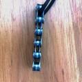 BIKE CHAIN PENDANT. Unique pendant.