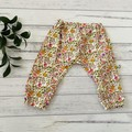 Floral Harem Pants, Size 00 and 0, Baby girls pants