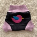 Medium Bird Wool Nappy Cover