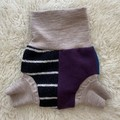Large Elephant Wool Nappy Cover