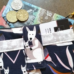 Kangaroo phone purse