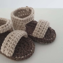 Baby Sandals/Booties - Neutral