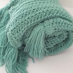 Beautifully soft Green Blanket