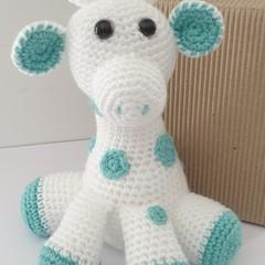 Mint and White Giraffe