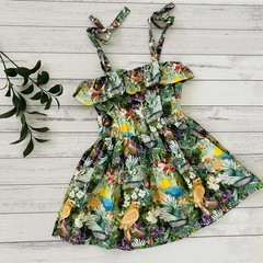 Floral Sorrento Dress, Size 5,, Girls Dresses
