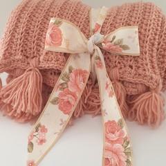 Blush Crochet Blanket