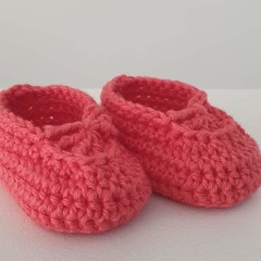 Booties - Coral