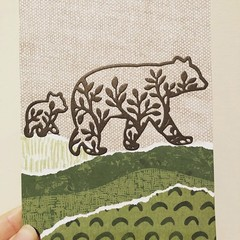 Brown bears card