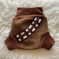 Large Chewbacca Wool Nappy Cover