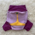 Large Princess Bubblegum Wool Nappy Cover