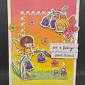Fairy card/ Birthday card / Little Girl / Friend Card/
