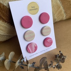Pretty in Pink Stud Pack
