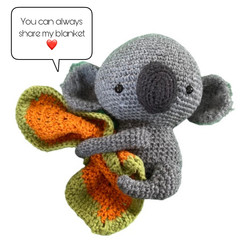 Cuddly Baby Koala - from the Red George cuddle crew