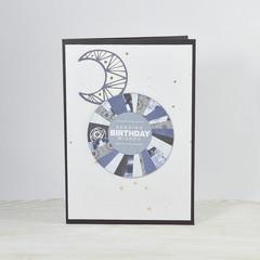 Unisex Birthday Card, Stargazing