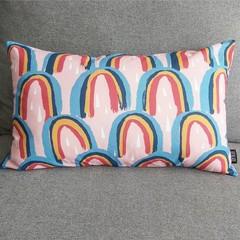 Rainbow cushion with insert