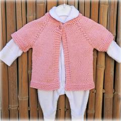Bub Warmer:  Size 00  Pink cotton