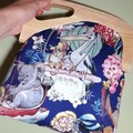 Navy Aussie Tales handbag