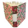 Handmade Buttonhole Stitch Journal or Sketchbook , Lightweight, Lays Flat,