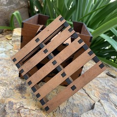 Coasters - Mini Pallet design. From $1.90 per Mini Pallet + FREE Holder