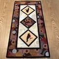 Australiana table runner - Robin