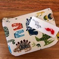 Dinosaur Earring & Coin Purse Gift Set