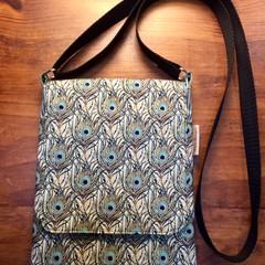 Peacock Cross Shoulder Bag
