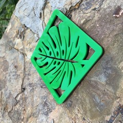 Coasters - Monstera Leaf Square. From $4.60 per Coaster