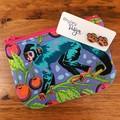 Monkey Earring & Coin Purse Gift Set