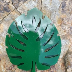Coasters - Monstera Leaf Round. From $4.60 per Coaster