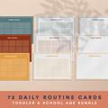 Toddler Routine Cards Digital Download