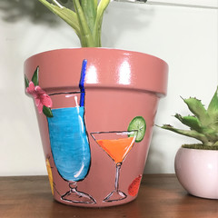 Plant Pots - Summer Drinks