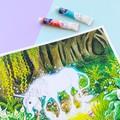 "Large art print ""An Enchanted Encounter"" fantasy watercolour art print"