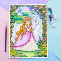 """Giclee art print """"The Enchanted Garden"""" fantasy watercolour print"""