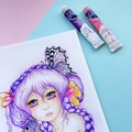 "Giclee art print ""Lavender Dreams"" watercolour art print"