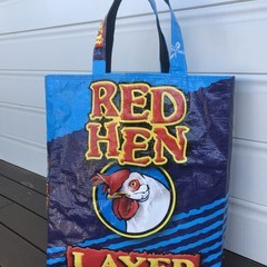Shopping bags, thanks to the Dogs and Chooks!