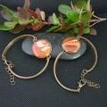 Dainty Bronze Round Bracelet - only 2 left