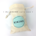 KIKIME Wheat Bags - Design: Native Bouquet Cream