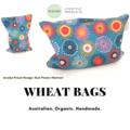 KIKIME Wheat Bags - Design: Gum Flower Abstract