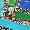 One of a kind lap quilt, Nightmare before Christmas design