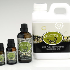 100% Pure Australian Crocodile Oil
