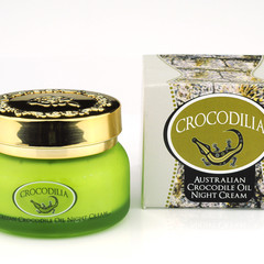 Anti-ageing, Anti-wrinkle Night Cream with Crocodile Oil 50g