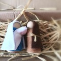 Nativity Set Peg Dolls Joseph, Mary, baby Jesus