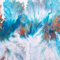 """""""Aqua"""" 45 x 60cm (18x24in) Wall Art"""