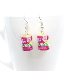 Miniature Haw Flakes Candy Dangle Earrings, mini food jewellery