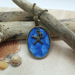 Mermaid Scale Necklace - (multiple colour options available)