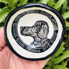 Little Hairy dog 🐕  bowl