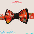 One of a kind Star Wars bow tie. Baby size.