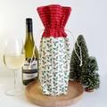 Wine Bottle Gift Bag | Scandi Christmas | Zero Waste | Free Shipping