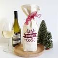 Wine  Bottle Gift Bag | Best Teacher Ever | Zero Waste