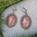 Dragon Scale Earrings - dyed snake shed (multiple colour options available)